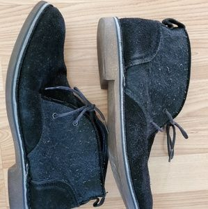 Andrew Marc New York Black Chukka Ankle Boots US 9